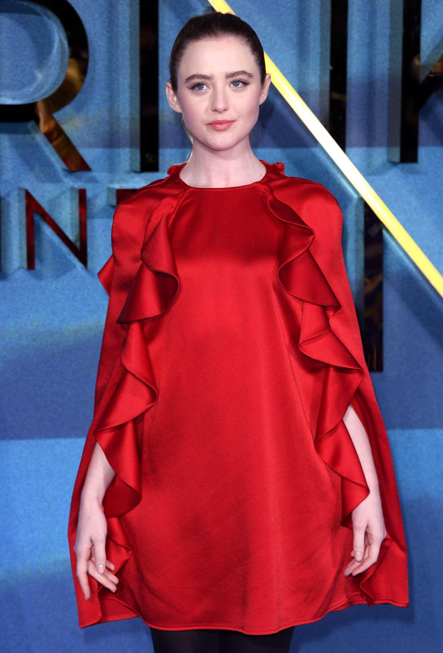 Kathryn Newton - 'A Wrinkle In Time' Premiere in London