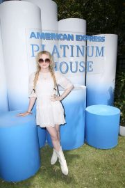 Kathryn Newton - American Express Platinum House in Palm Springs