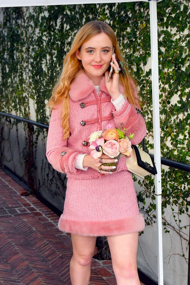Kathryn Newton at W Magazine's It Girl Luncheon in Los Angeles