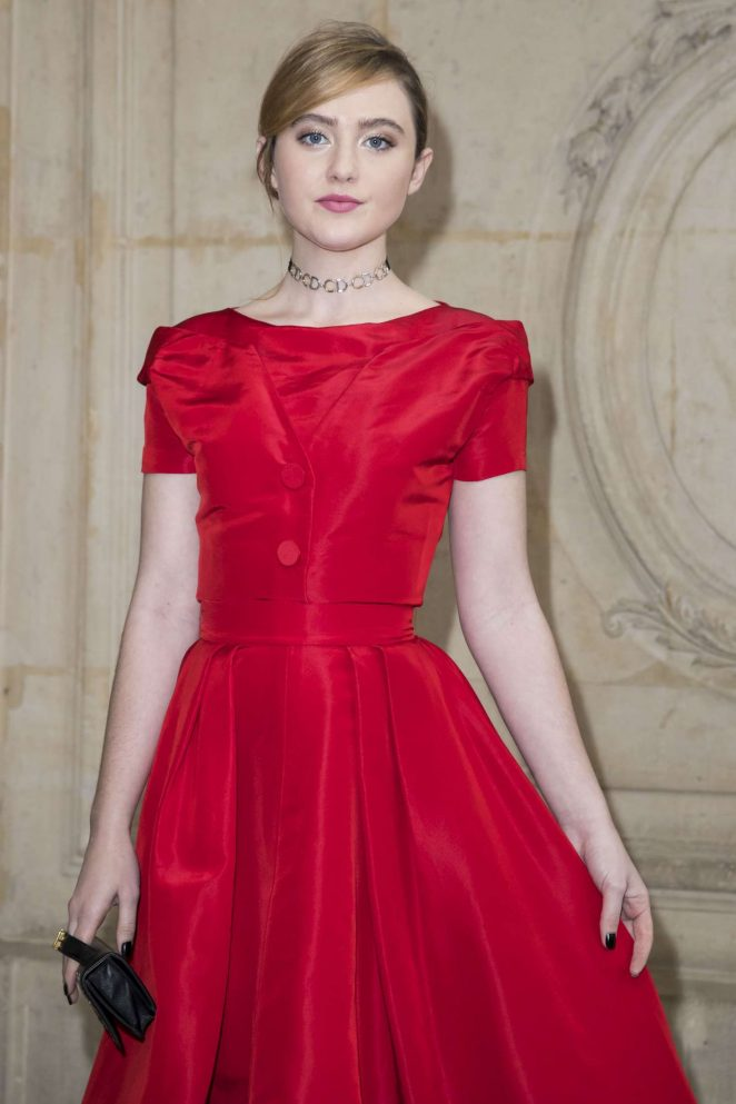 Kathryn Newton - Christian Dior Show at 2017 PFW in Paris