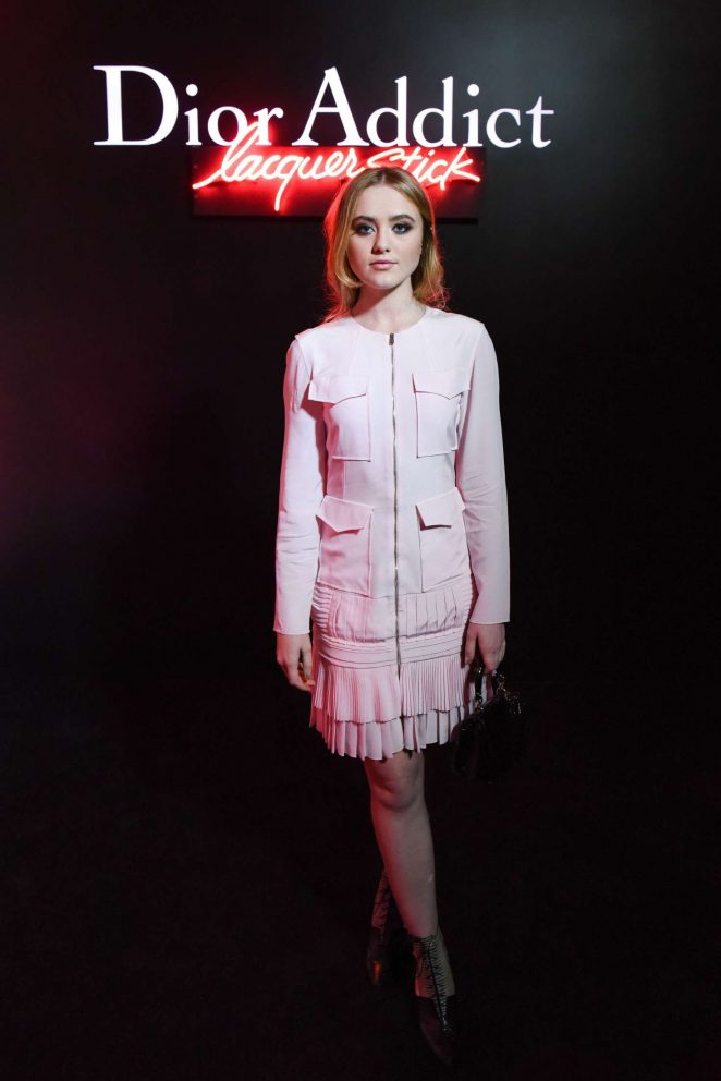 Kathryn Newton - Dior party in West Hollywood