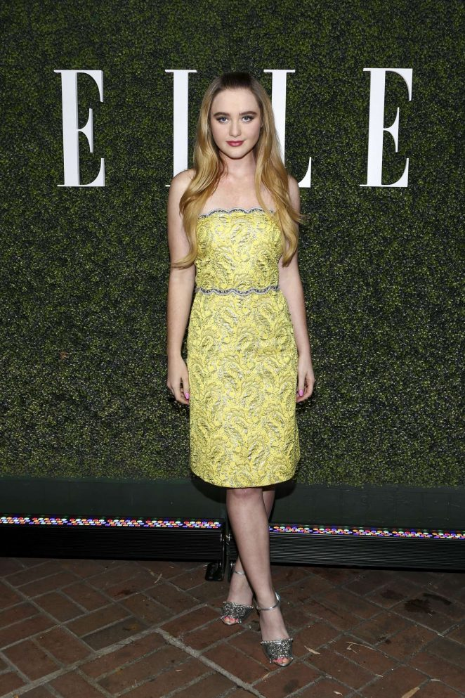 Kathryn Newton - Elle Women in Television Celebration 2017 in Los Angeles