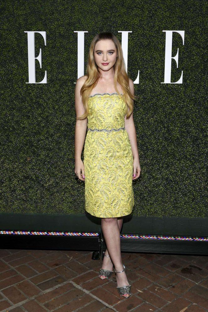 Kathryn Newton - Elle Women in Television Celebration 2017 in Los Angeles