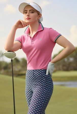 Kathryn Newton - Ralph Lauren Women's Golf Brand 2020
