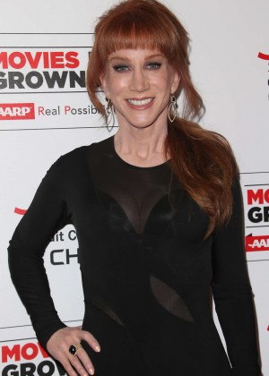 Kathy Griffin - AARP's Movie For GrownUps Awards in Beverly Hills