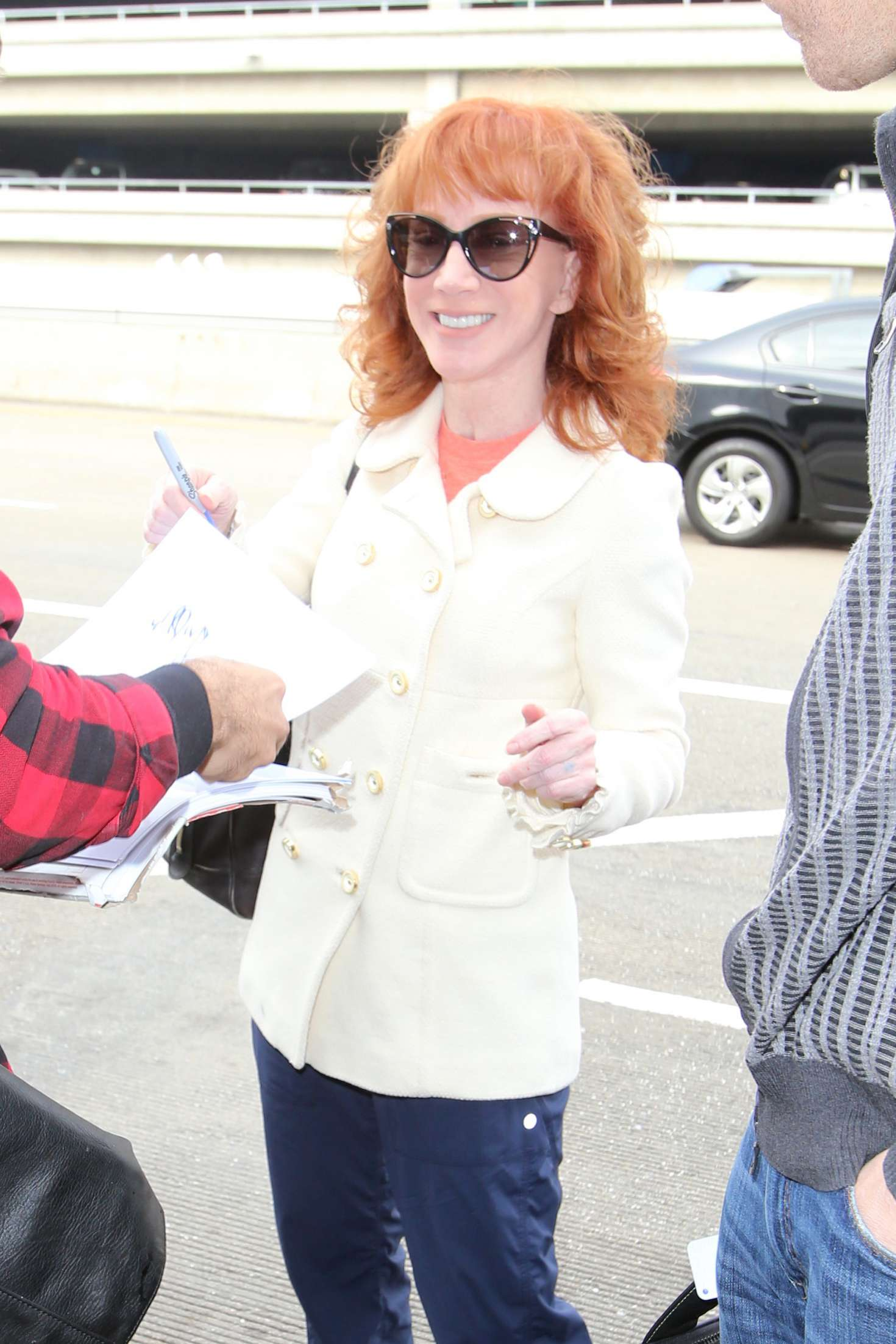 Kathy Griffin - Arrives at LAX Airport in LA