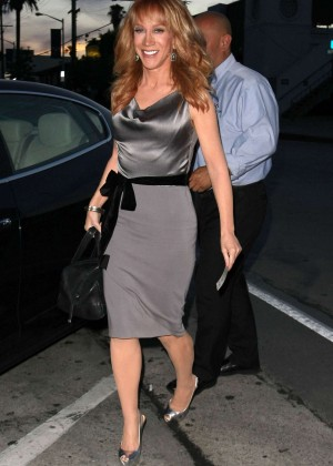 Kathy Griffin - Craig's Restaurant in West Hollywood