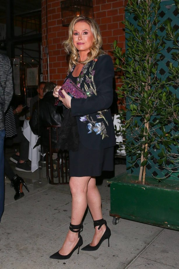 Kathy Hilton - Arriving at Mr. Chow restaurant in Beverly Hills