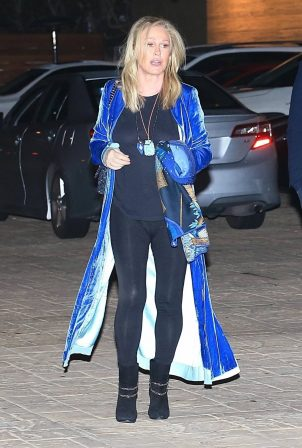 Kathy Hilton - Night out at Nobu in Malibu