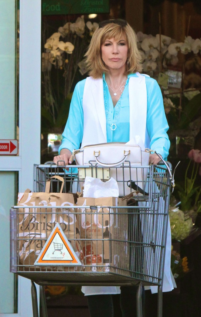Kathy Lee Gifford - Leaving Bristol Farms in West Hollywood