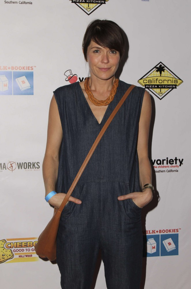 Katie Aselton - The 7th Annual Milk + Bookies Story Time Celebration in LA
