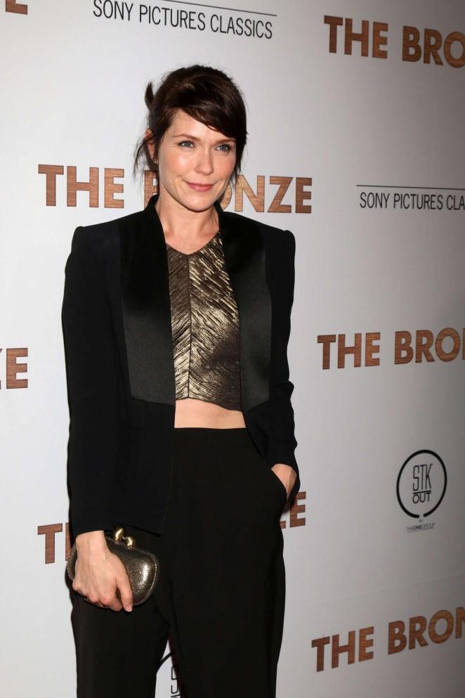 Katie Aselton - 'The Bronze' Premiere in Los Angeles