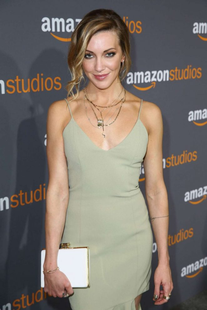 Katie Cassidy – 2017 Amazon Studios Golden Globes Party in LA