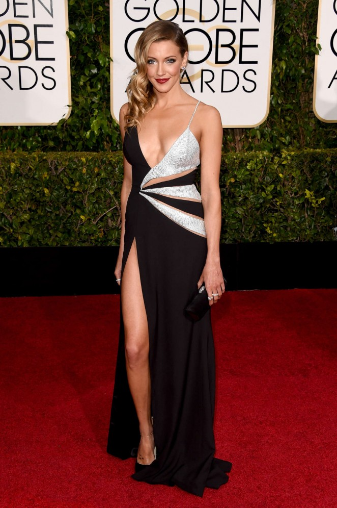 Katie Cassidy - 2015 Golden Globe Awards in Beverly Hills