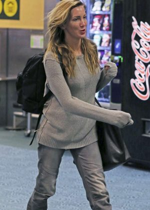 Katie Cassidy Arriving back in Vancouver