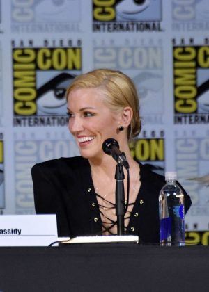 Katie Cassidy - 'Arrow' Panel at 2017 Comic-Con in San Diego