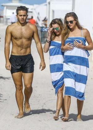 Katie Cassidy: Bikini at The Beach In Miami-05