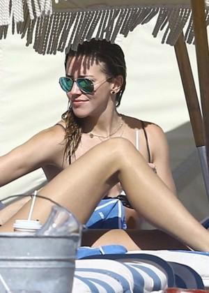 Katie Cassidy: Bikini at The Beach In Miami-08