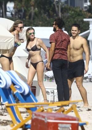 Katie Cassidy: Bikini at The Beach In Miami-11