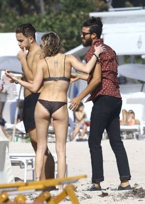 Katie Cassidy: Bikini at The Beach In Miami-16