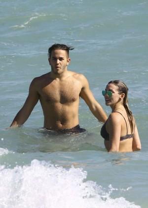 Katie Cassidy: Bikini at The Beach In Miami-18