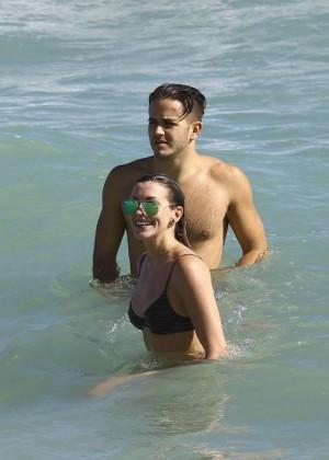 Katie Cassidy: Bikini at The Beach In Miami-19