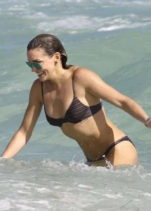 Katie Cassidy: Bikini at The Beach In Miami-20