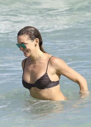 Katie Cassidy: Bikini at The Beach In Miami-23