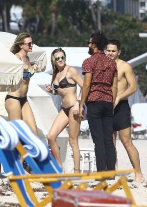 Katie Cassidy: Bikini at The Beach In Miami-27