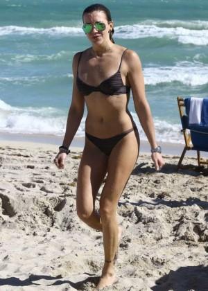 Katie Cassidy: Bikini at The Beach In Miami-45