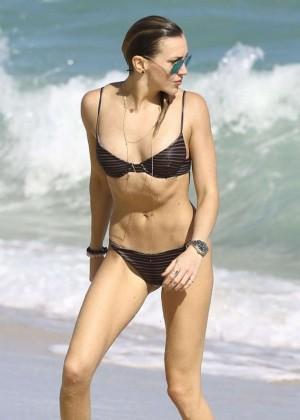 Katie Cassidy: Bikini at The Beach In Miami-54