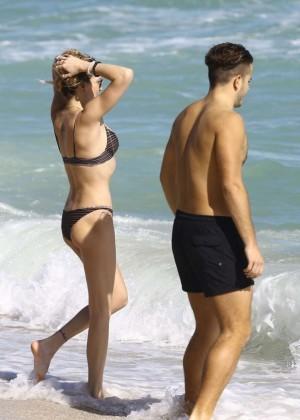 Katie Cassidy: Bikini at The Beach In Miami-55
