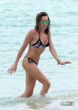 Katie Cassidy in Bikini on Miami Beach