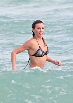 Katie Cassidy Bikini in Miami-04