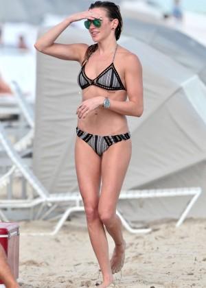 Katie Cassidy Bikini in Miami-07