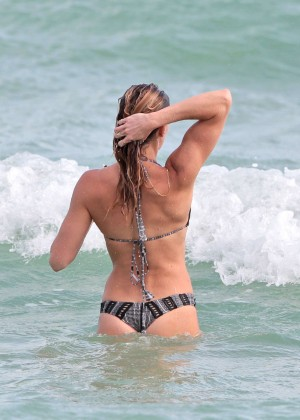 Katie Cassidy Bikini in Miami-11