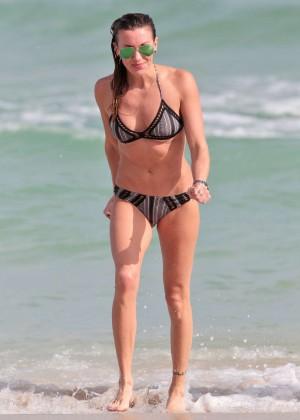 Katie Cassidy Bikini in Miami-12