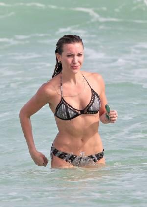 Katie Cassidy Bikini in Miami-13