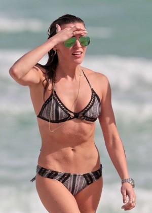 Katie Cassidy Bikini in Miami-14