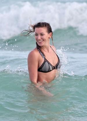 Katie Cassidy Bikini in Miami-15
