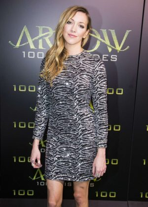 Katie Cassidy - Celebration Of 100th Episode Of CW's 'Arrow' in Vancouver