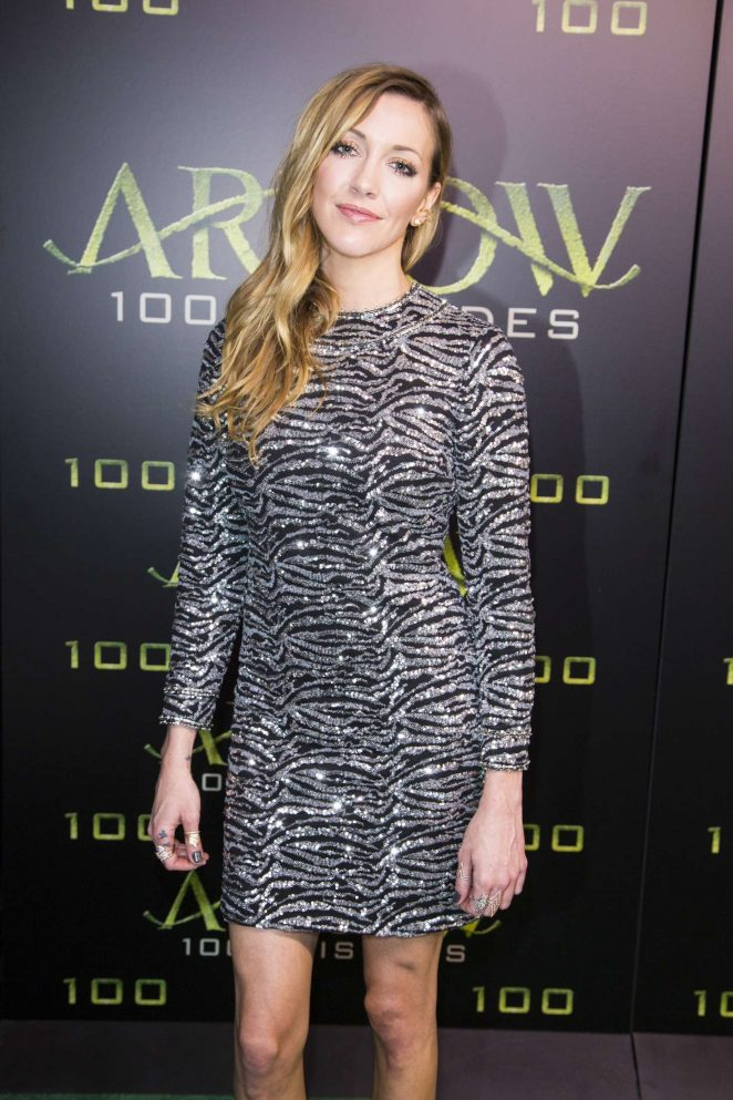 Katie Cassidy – Celebration Of 100th Episode Of CW's 'Arrow' in Vancouver