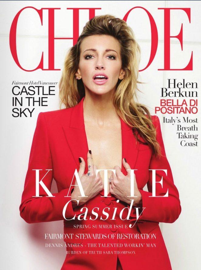 Katie Cassidy – Chloe Magazine (Spring 2018)