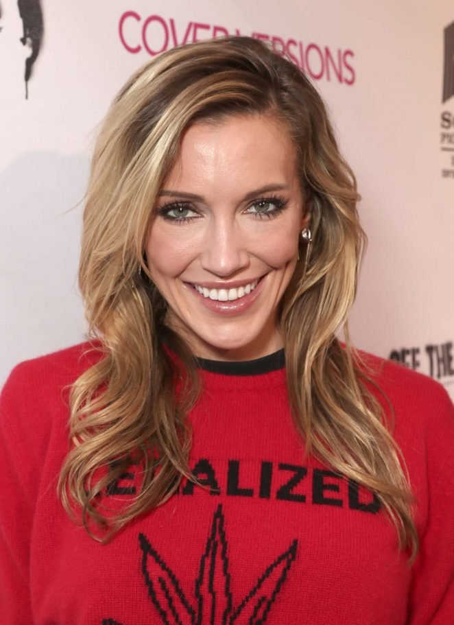 Katie Cassidy – 'Cover Versions' Premiere in Los Angeles