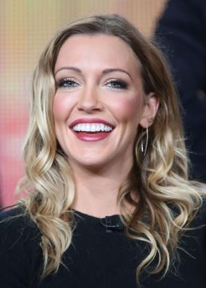 "Katie Cassidy - ""CW Arrow"" Panel TCA Press Tour in Pasadena"