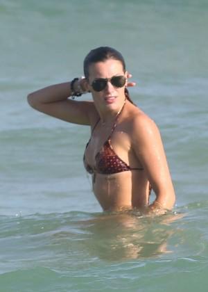 Katie Cassidy Hot in Bikini -23