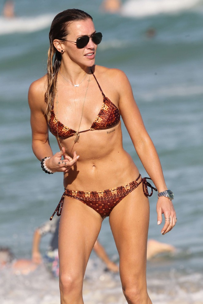 Katie Cassidy Hot in Bikini in Miami