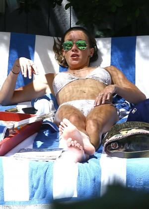 Katie Cassidy in a Bikini -10