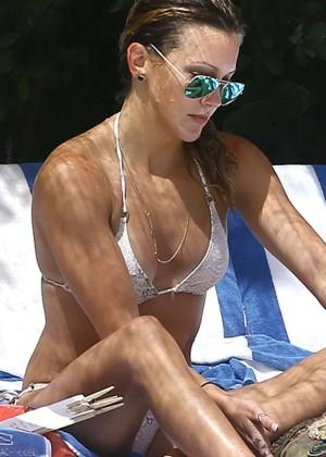 Katie Cassidy in a Bikini -11