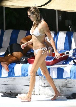 Katie Cassidy in a Bikini -19